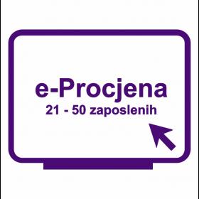 e-Procjena za tvrtke od 21 do 50 zaposlenih